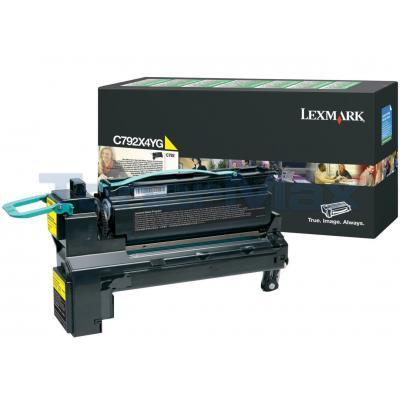 LEXMARK C792 PRINT CART YELLOW XHY RP TAA